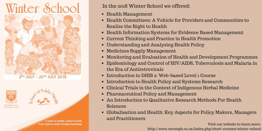 2018 winter school
